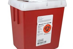 medical waster containers